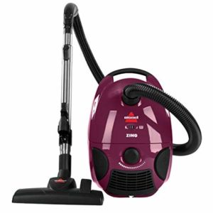 Bissell Zing Bagged Canister Vacuum Cleaner 4122